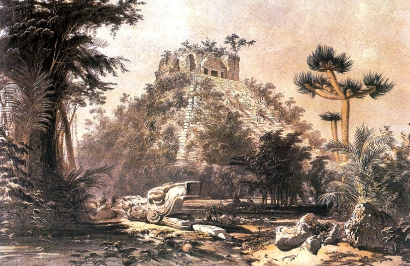 11 Frederick Catherwood (inglês), Views of Ancient Monuments in Central America, Chiapas, and Yucatan, 1844 7