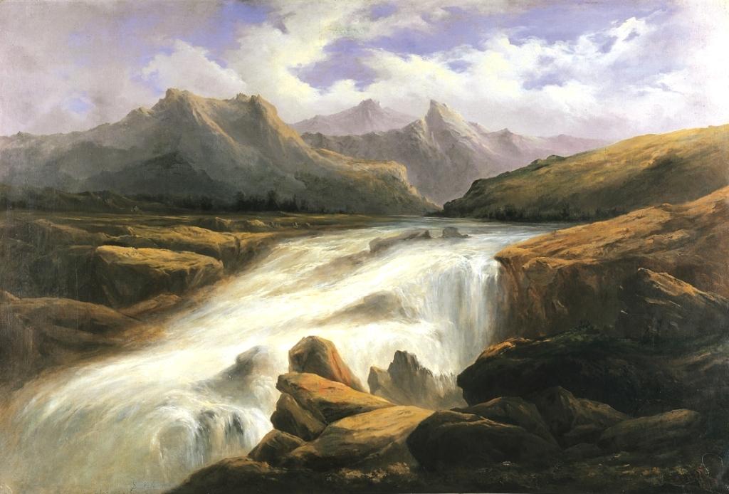 2 Antonio Smith (Chile)_1870 Río Cachapoal_100 x 146 cm