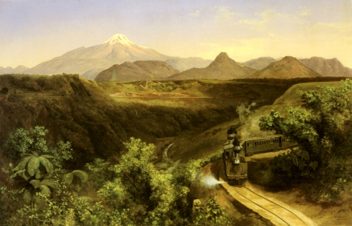 5 José María Velasco_1879 El Citlaltépetl_105 x 160 cm